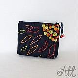 Taštičky - Ohnivý kvet - taštička - 3894542_