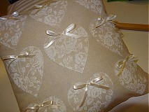 Úžitkový textil - vankúšik na želanie  do vidieckej záhrady:) - 3901679_