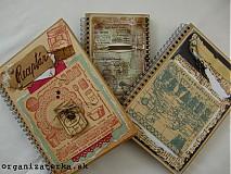 Kurzy - Originálny zápisník, receptár - Bratislava, 14.6. o 14.00 hod - 3900756_