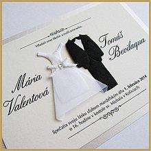 Papiernictvo - Svadobné oznámenie ~Wedding II.~ - 3901004_