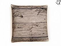 Úžitkový textil - _na dreve (špaldový vankúš/podsedák) 40x40cm - 3906483_