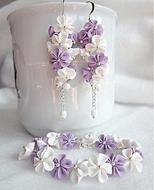 Sady šperkov - Levanduľky - 3906340_