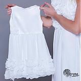 Detské oblečenie - Šaty pre malú slečnu s lupienkami - 3905840_