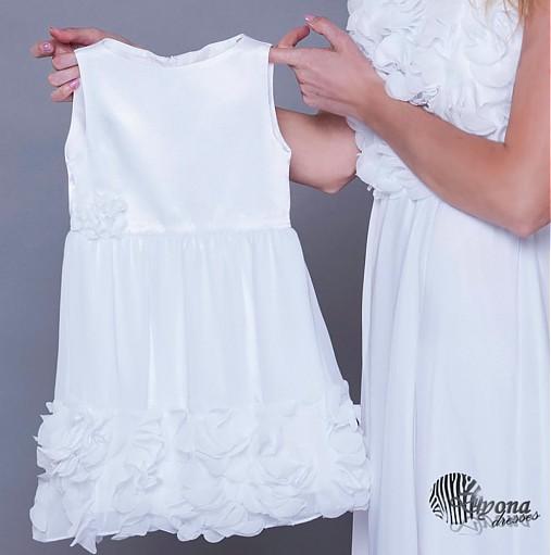 cc5113f79 Šaty pre malú slečnu s lupienkami / Dyona - SAShE.sk - Handmade ...