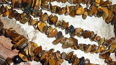 Minerály - Tigrie oko - zlomky - 3905583_