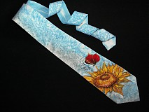 Doplnky - Hodvábna kravata Červený motýľ - 3906147_