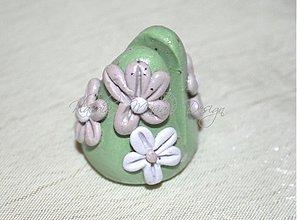 Dekorácie - stojan na vizitku kvety - 3910299_