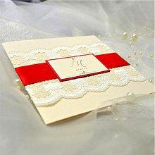 Papiernictvo - Elegantné svadobné oznámenie - 3909489_