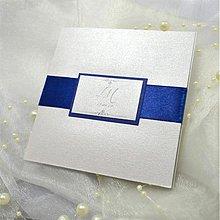 Papiernictvo - Elegantné svadobné oznámenie - 3909543_