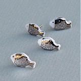 Náušnice - Mini rybičky. - 3909888_