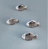 Náušnice - Mini rybičky. - 3909890_