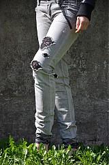Nohavice - Nohavičky rifličky sivé - 3913092_