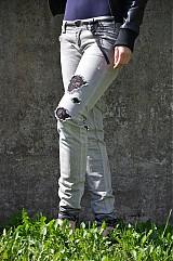 Nohavice - Nohavičky rifličky sivé - 3913095_