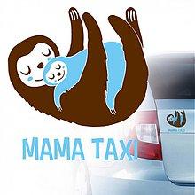 Dekorácie - MAMA taxi - 3913188_
