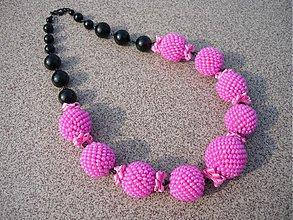 Náhrdelníky - Náhrdelník Sweet PINK - 3916629_