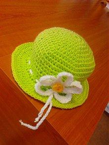 Detské čiapky - Jarné kvety - 3917420_