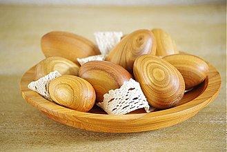 Dekorácie - drevené vajíčka - 3918215_
