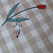 Úžitkový textil - TAK si VISÍM - napron 70x70 cm - 3917840_