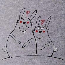 Úžitkový textil - LÁÁÁSKÁÁÁ  :o=  napron 70x70 cm - 3918036_