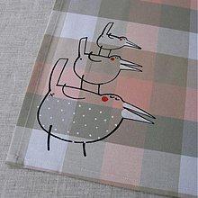 Úžitkový textil - PYRAMIDKA - napron 70x70 cm - 3918841_