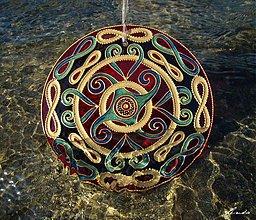 Dekorácie - Mandala NEKONEČNO - 3924985_