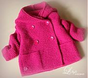 """Detské oblečenie - kabátik """"MYŠKA"""" pink - 3921736_"""