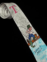 Doplnky - Hodvábna kravata Rybár - 3923509_