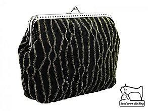 Kabelky - zľava Spoločenská kabelka do ruky 0977A - 3926046_