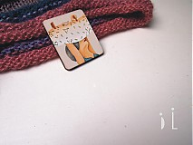 Odznaky/Brošne - Brož / pradlenka - 3925383_