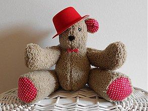 Hračky - Macko s klobúkom - 3927585_