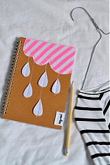 - zápisník Prší - prší - 3928919_
