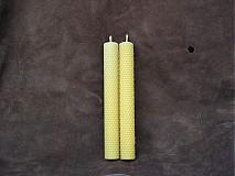 Svietidlá a sviečky - Sviece z medzistienok, vysoké - 3931880_