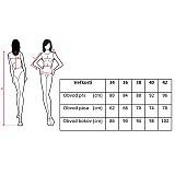 Šaty - Spoločenské šaty so šifónovou sukňou do A - 3931662_