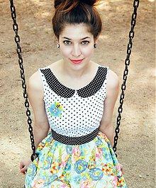 Šaty - ako bábika - 3931845_
