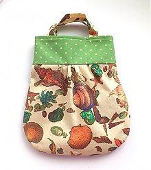 Detské tašky - taštička Mušle - 3933470_