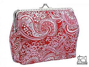 Kabelky - zľava kabelka brokátová spoločenská , dámská kabelka 07 - 3934394_