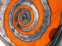 misa oranžová hranatá