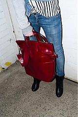 Veľké tašky - Chill woman /červená - 3934816_