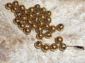 Minerály - Hematit zlatý 6mm - 3935567_