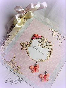 Papiernictvo - Motýlie pohladenie - 3936080_