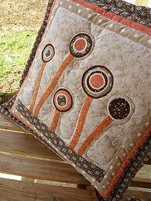 Úžitkový textil - V krajine zázrakov...prevedenie terakota, hnedá :)) - 3936212_