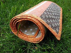 Úžitkový textil - Štóla...terakota - 3936223_