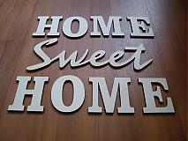 Tabuľky - Vyrezávané písmená - HOME Sweet - 3937487_