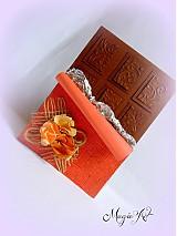 Papiernictvo - Čokoládka so škoricou - 3936387_