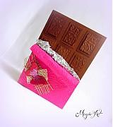 Papiernictvo - Čokoládka - liek na ženskú dušu - 3936394_