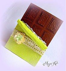 Papiernictvo - Čokoládka  - Limetka - 3936385_