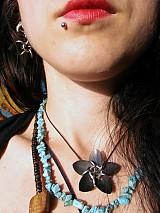 Náhrdelníky - Lotosový Kvet - prívesok - 3937067_