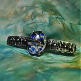 Iné šperky - Vodopád II. /spona do vlasů/ - 3939029_