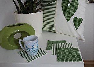 Úžitkový textil - podložka pod šálku - 3940856_
