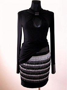 Sukne - Originálna strapcová sukňa - 3942401_